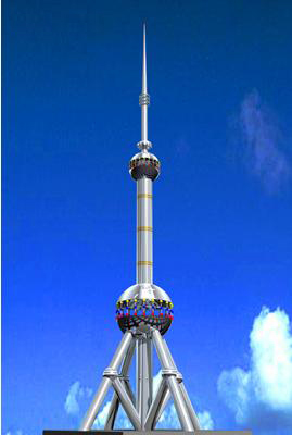 珲春gh系列装饰工艺塔